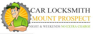 Car locksmith mount prospect logo
